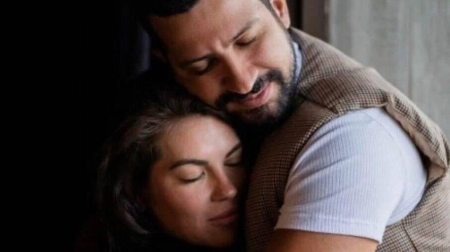 Dennis DJ e Bárbara Falcão