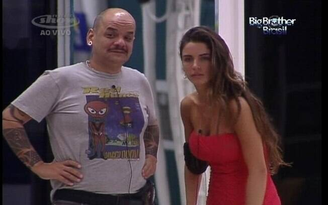 João Carvalho e Laisa falam sobre a prova