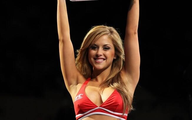 Ring Girl Brittney Palmer é a queridinha dos fãs do UFC