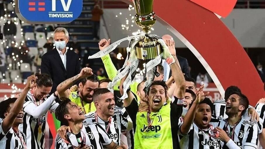 Juventus vence o título da Copa da Itália