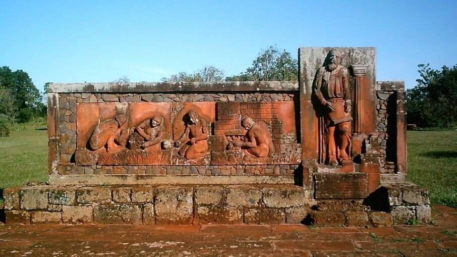 O Sítio Arqueológico de São João Batista, no município de Entre-Ijuís (RS), também faz parte da rota