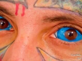 A tatuagem feita nos olhos é irreversível, afirma especialista