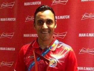 Keylor Navas foi eleito pela Fifa o melhor jogador no empate sem gols com a Inglaterra