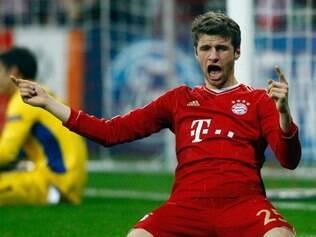 Thomas Müller é um dos destaques do Bayern de Munique