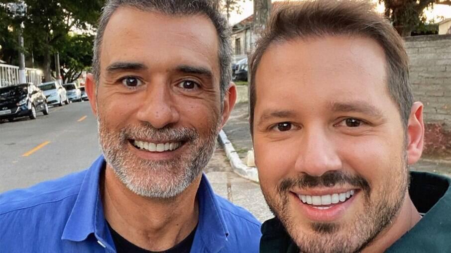 Dony De Nuccio e Marcos Pasquim