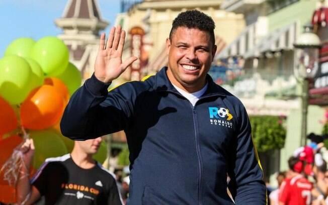 Ronaldo Fenômeno durante uma edição da  Florida Cup