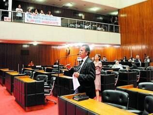 ALMG.  Após encontro de Pimentel com independentes, atual oposição conseguiu derrubar quórum