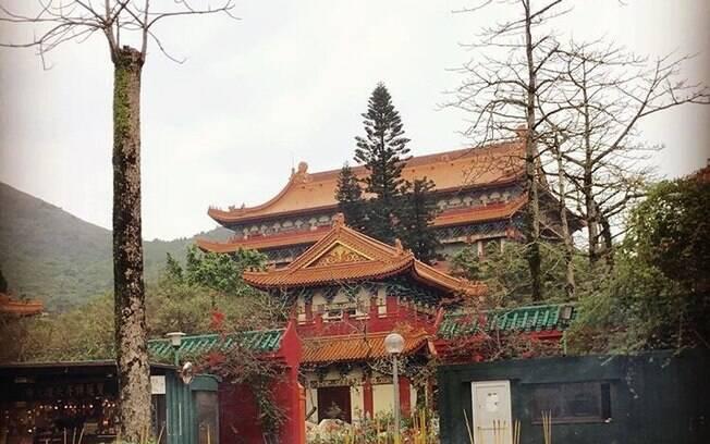 Mais um templo em Hong Kong