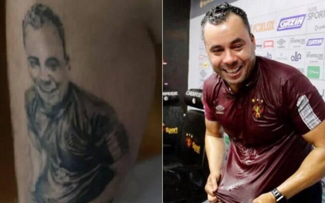 Tatuagem Jair Ventura