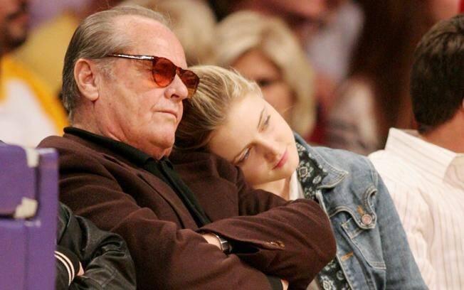 Jack Nicholson e a filha, Lorraine Nicholson