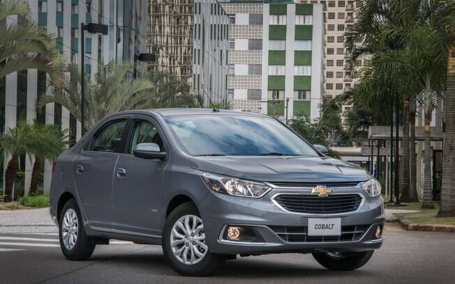 Chevrolet Cobalt: antes, o sedã mais econômico do segmento. Com a chegada do Cronos, o carro da GM fica em segundo