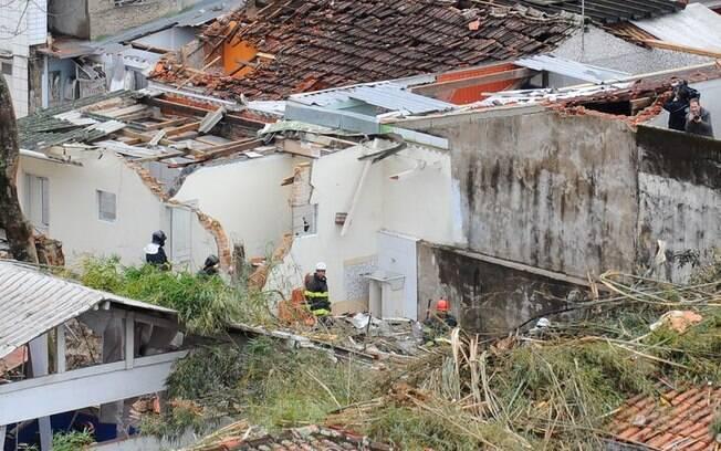 Casa foi atingida pela aeronave, em 2014, no acidente que matou o então candidato à presidência pelo PSB, em 2014