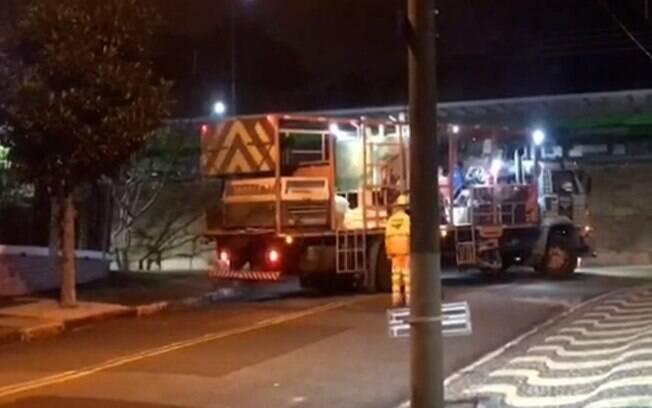 Moradores reclamam de barulho de obra do BRT durante a madrugada em Campinas