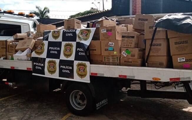 Homem é preso com carga roubada de lâmpadas de R$ 150 mil em Sumaré