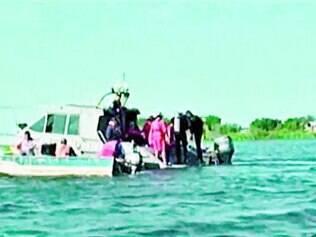 Sete corpos foram resgatados após naufrágio na região do Pantanal