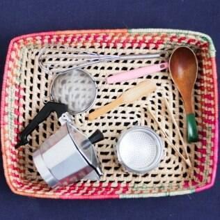 Cesta de tesouros deve contar diferentes objetos usados no dia a dia da casa