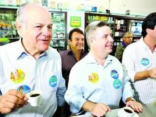 PSDB. Pimenta da Veiga, junto com os apoiadores, também inclui a parada para o cafezinho