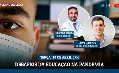Live debate os desafios de educação na pandemia