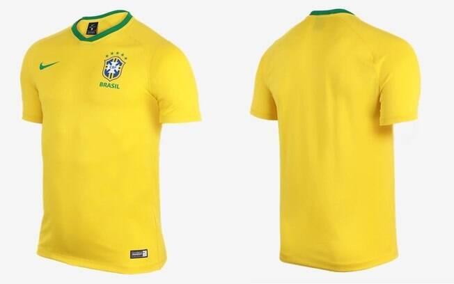 Camisa da Seleção Brasileira modelo supporter