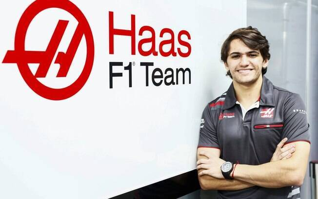 O brasileiro Pietro Fittipaldi%2C 22 anos%2C é piloto de testes da Haas na Fórmula 1