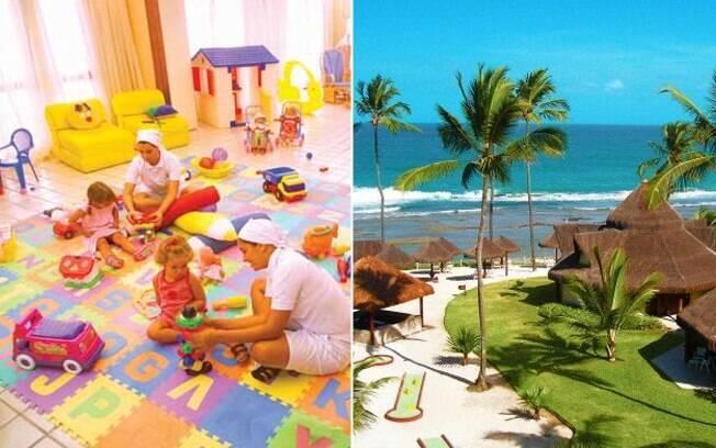 O Summerville Beach Resort tem áreas exclusivas para os pequenos e um espaço, conhecido como Clubinho