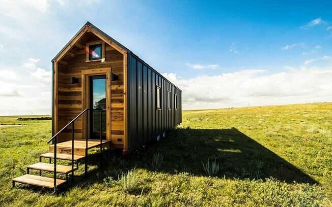 Casa compacta reúne natureza e aconchego