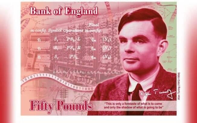 Herói da Segunda Guerra Mundial, perseguido por ser gay, o matemático Alan Turing vai estampar a nota de 50 libras