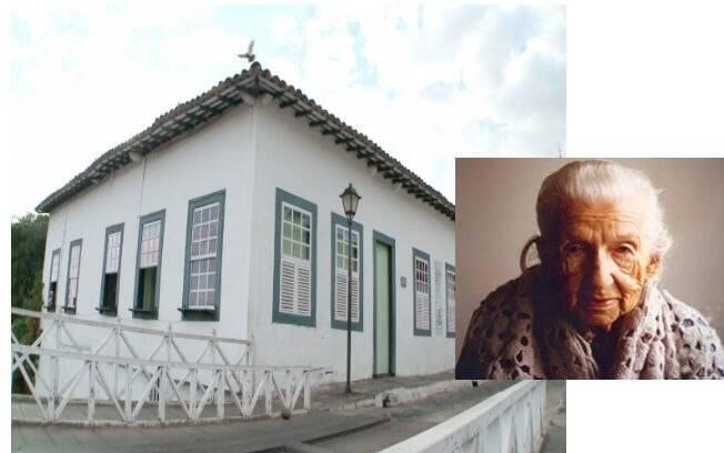 A casa de Cora Coraliona, grande poetisa e contista brasileira, virou um museu