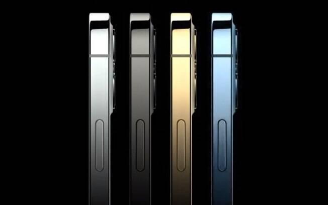 Cores do iPhone 12 Pro e Pro Max
