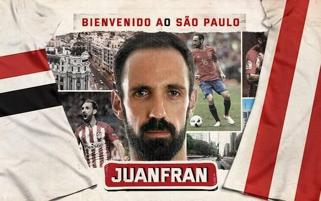 Juanfran fez sucesso na Espanha defendendo o Atlético de Madrid