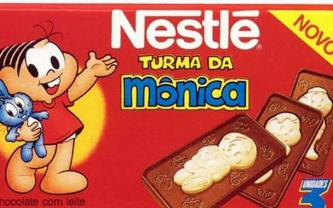 O chocolate Turma da Mônica também será relançado em breve