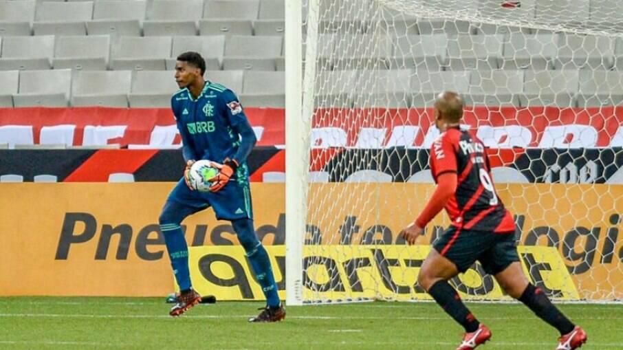 Hugo Souza é cria da base do Flamengo
