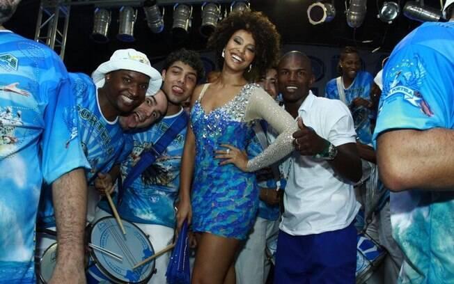 Sheron Menezzes na escolha do samba-enredo da Portela