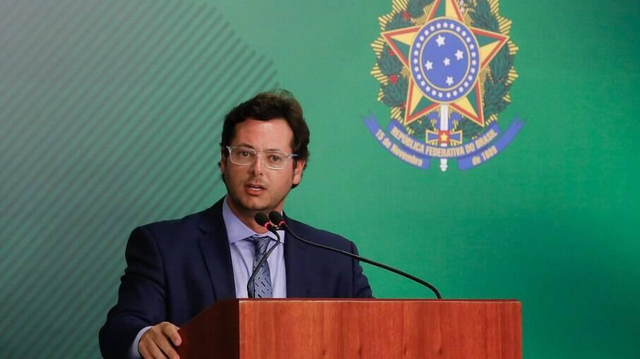 Wajngarten depõe aos senadores membros da comissão parlamentar de inquérito