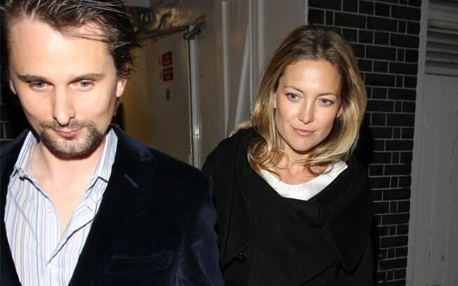 O casal Kate Hudson e Matt Bellamy: juntos até às 4 da manhã