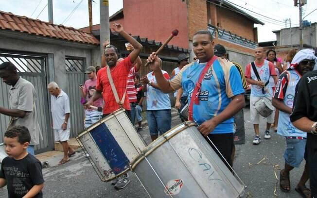 O Bloco dos Zattrevidos desfilará no sábado de carnaval às 14h