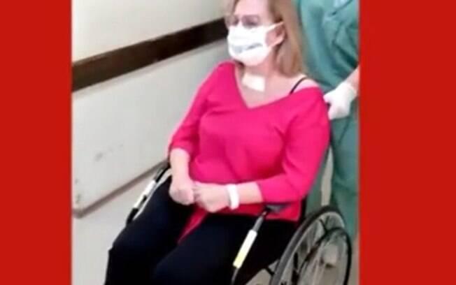 Flávia teve alta depois 50 dias internada