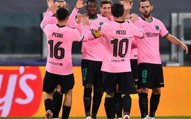 Barcelona vence Juventus pela Liga dos Campeões