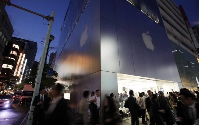 Loja localizada em Ginza, distrito da capital Tokyo, no Japão