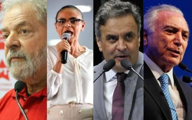 Os nomes dos principais políticos que podem se candidatar às eleições de 2018 aparecem em propostas de delações premiadas da Lava Jato