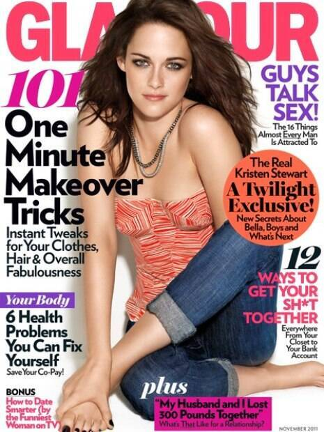 Kristen Stewart perde braço em capa de revista