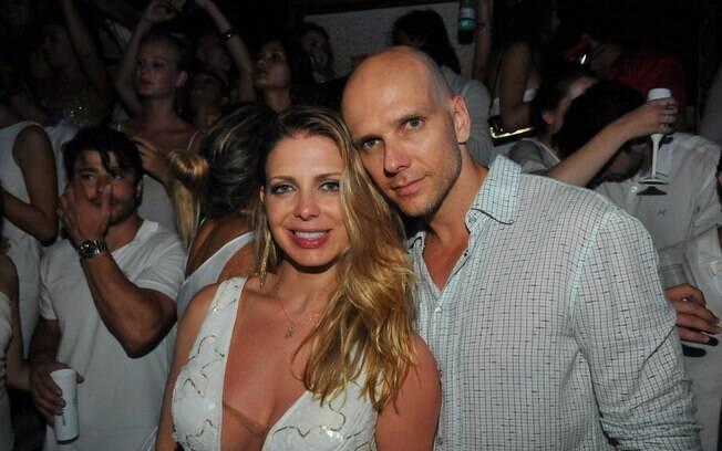 ...Fernando Scherer e Sheila Mello...