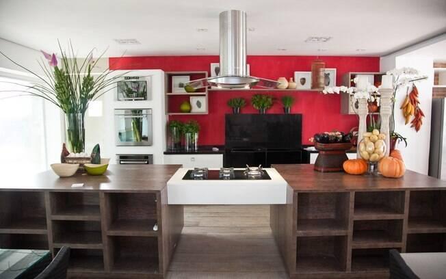 Um dos ambientes onde ocorrerão as aulas de gastronomia é o Sala de aul, dos arquitetos Sergio de Oliveira e Vilma Massud
