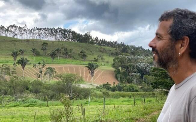 Interpretando um personagem diferente, Marcos Palmeira vive a trama de