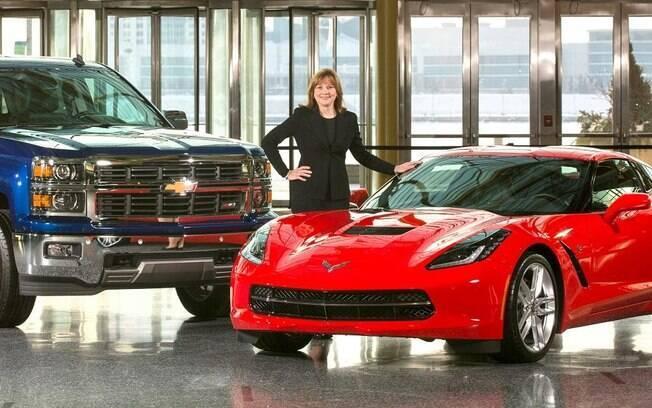 Entre as mulheres da indústria, Mary Barra ostenta o título de