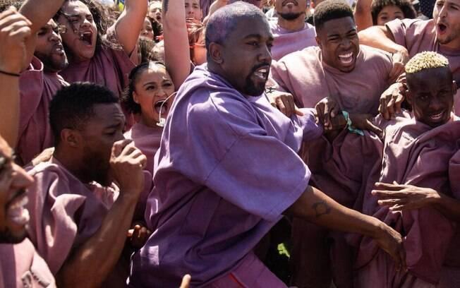O tão esperado Sunday Service foi o espetáculo do rapper Kanye West no festival de música Coachella