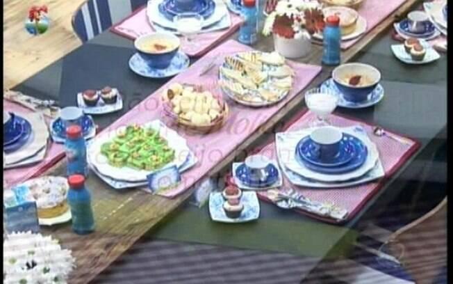 Peoas ganham café da manhã