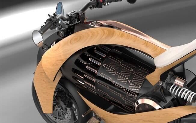 Motor utiliza tecnologias de última geração, que marcas como a Harley-Davidson e a BMW estão aperfeiçoando