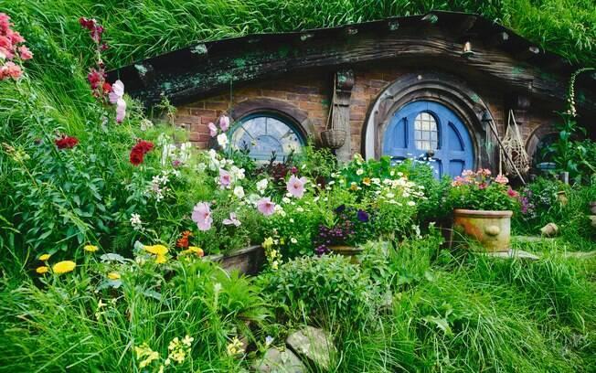 """Fãs da obra de J. R. R. Tolkien e do diretor Peter Jackson não podem perder Hobbiton, que serviu de locação para """"O Senhor dos Anéis"""" e """"O Hobbit"""""""