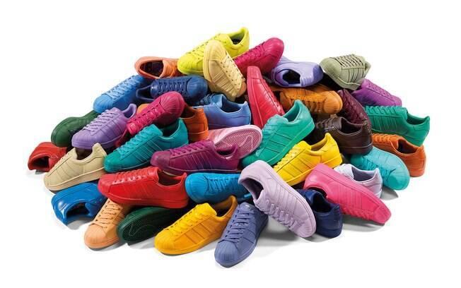 336b3b00ca2 Tênis Adidas Supercolor by Pharrell chega ao Brasil nesta sexta ...